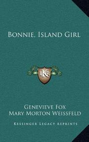 BONNIE, ISLAND GIRL by Genevieve Fox
