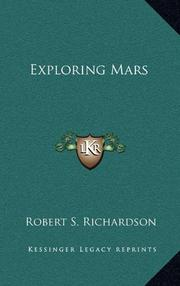 EXPLORING MARS by Robert S. Richardson