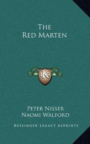 THE RED MARTEN by Peter Nisser