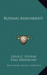 RUSSIAN ASSIGNMENT by Vice Adm. Leslie C. Stevens