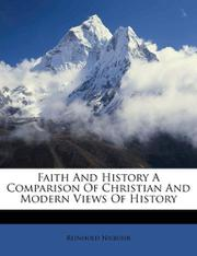FAITH AND HISTORY by Reinhold Niebuhr