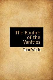 Cover art for THE BONFIRE OF THE VANITIES