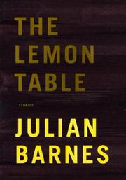 Book Cover for THE LEMON TABLE