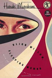 Cover art for BLIND WILLOW, SLEEPING WOMAN