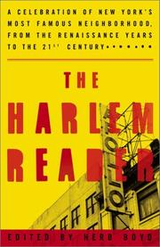 THE HARLEM READER by Herb Boyd