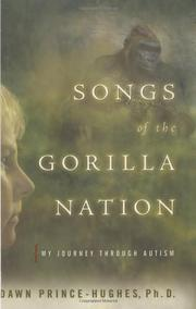 Cover art for SONGS OF THE GORILLA NATION