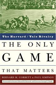 THE ONLY GAME THAT MATTERS by Bernard Corbett