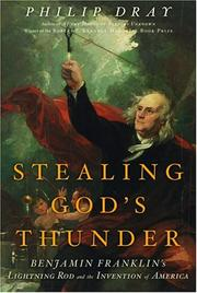 Cover art for STEALING GOD'S THUNDER