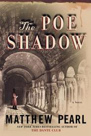 Cover art for THE POE SHADOW