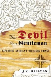 THE DEVIL IS A GENTLEMAN by J.C. Hallman