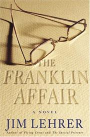 Cover art for THE FRANKLIN AFFAIR