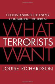 Cover art for WHAT TERRORISTS WANT