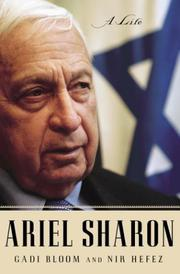 Cover art for ARIEL SHARON
