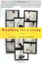 BREATHING FOR A LIVING by Laura Rothenberg