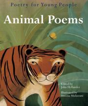 POETRY FOR YOUNG PEOPLE: ANIMAL POEMS by John Hollander