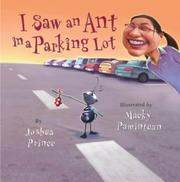 Book Cover for I SAW AN ANT IN A PARKING LOT