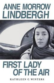 Cover art for ANNE MORROW LINDBERGH
