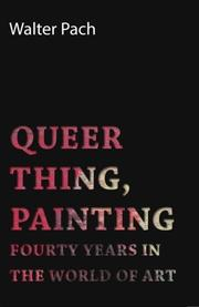 QUEER THING, PAINTING by Walter Pach