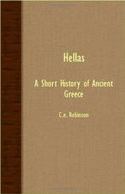 HELLAS A Short History Of Ancient Greece