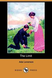 THE LIMIT by Ada Leverson