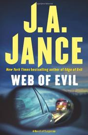 WEB OF EVIL by J.A. Jance
