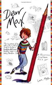 Book Cover for DEAR MAX