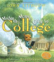 Cover art for MAHALIA MOUSE GOES TO COLLEGE