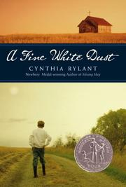 A FINE WHITE DUST by Cynthia Rylant