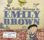 Book Cover for THAT RABBIT BELONGS TO EMILY BROWN