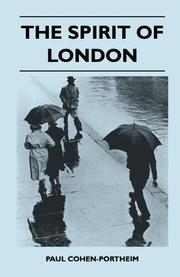 THE SPIRIT OF LONDON by Paul Cohen-Portheim