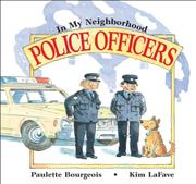POLICE OFFICERS by Paulette Bourgeois