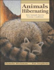 ANIMALS HIBERNATING by Pamela Hickman