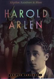 HAROLD ARLEN by Edward Jablonski