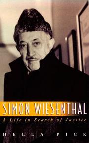 SIMON WIESENTHAL by Hella Pick