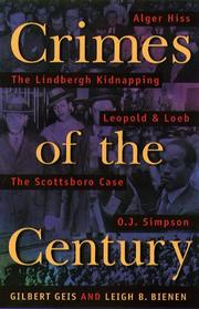 Cover art for CRIMES OF THE CENTURY