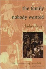 THE FAMILY NOBODY WANTED by Helen Doss