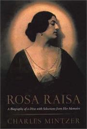 ROSA RAISA by Charles Mintzer