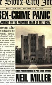 SEX-CRIME PANIC by Neil Miller