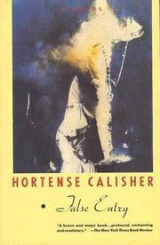 FALSE ENTRY by Hortense Calisher