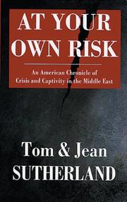 AT YOUR OWN RISK by Tom Sutherland