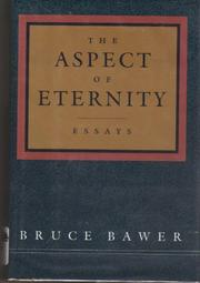 THE ASPECT OF ETERNITY by Bruce Bawer