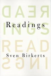READINGS by Sven Birkerts