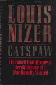 CATSPAW by Louis Nizer