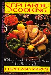 SEPHARDIC COOKING by Copeland Marks