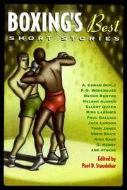 BOXING'S BEST SHORT STORIES by Paul D. Staudohar
