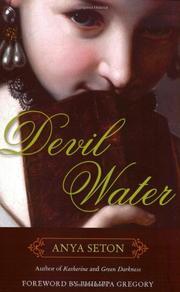 DEVIL, WATER by Anya Seton