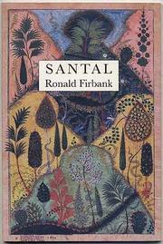 SANTAL by Ronald Firbank