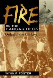 FIRE ON THE HANGAR DECK by Wynn F. Foster