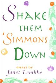 SHAKE THEM 'SIMMONS DOWN by Janet Lembke
