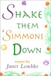 SHAKE THEM 'SIMMONS DOWN by Janet Lembke